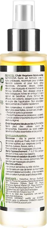 Olejek na rozstępy - Alphanova Santé Fabulous Organic Stretch Marks Oil — фото N2