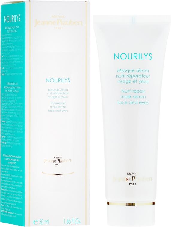 Odżywcze serum naprawcze w masce do twarzy i pod oczy - Méthode Jeanne Piaubert Nourilys Nutri Repair Mask Serum Face & Eyes — фото N1