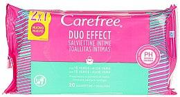 Kup Chusteczki nawilżane z aloesem do higieny intymnej, 40 szt. - Carefree Intimate Aloe Vera Wet Wipes