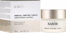 Kup Krem-kontrola zmarszczek mimicznych - Babor Mimical Control Cream