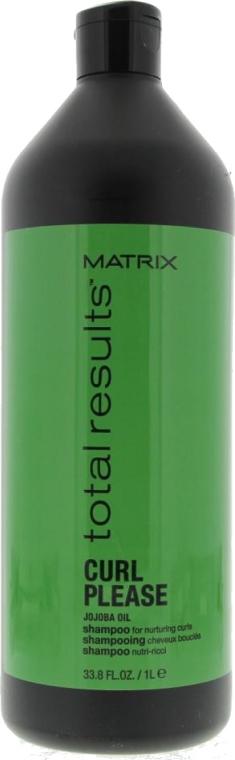 Pielęgnacyjny szampon do włosów kręconych - Matrix Total Results Curl Please