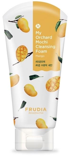 Oczyszczająca pianka do twarzy z mango - Frudia My Orchard Mango Mochi Cleansing Foam — фото N1