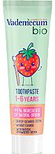 Kup Truskawkowa bio pasta do zębów dla dzieci - Vademecum Bio Toothpaste