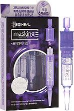 Ampułki do twarzy pielęgnujące pory - Mediheal Masking Layering Ampoule Poreminor Shot — фото N1