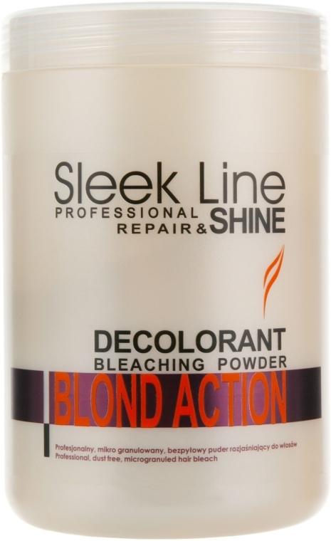 Puder rozjaśniający do włosów - Stapiz Sleek Line Blond Action — фото N1