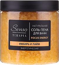 Kup Naturalna musująca sól do kąpieli Imbir i Limonka - Senso Terapia Focus Energy