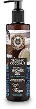 Kup Naturalny nawilżający żel pod prysznic Kokos - Planeta Organica Organic Coconut Natural Shower Gel
