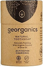 Kup Mydło do mycia zębów z węglem aktywnym - Georganics Tooth Soap Stick Activated Charcoal