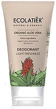Kup Dezodorant Lekkość i świeżość - Ecolatier Organic Aloe Vera Deodorant