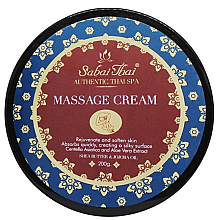 Kup PRZECENA! Krem do masażu z ekstraktami z wąkroty azjatyckiej i aloesu - Sabai Thai Jasmine Aroma Massage Cream *