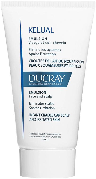 Emulsja do skóry podrażnionej i łuszczącej się - Ducray Kelual Emulsion Face & Scalp — фото N1
