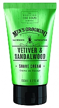 Kup Krem do golenia Wetyweria i drzewo sandałowe - Scottish Fine Soaps Vetiver & Sandalwood Shave Cream