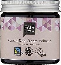 Kup Odświeżający krem intymny - Fair Squared Apricot Deo Cream Intimate