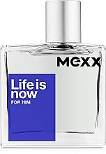 Kup Mexx Life Is Now For Him - Woda toaletowa