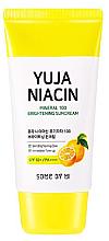 Kup Rozjaśniający mineralny krem do opalania SPF 50+ - Some By Mi Yuja Niacin Mineral 100 Brightening Suncream