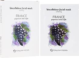Kup PRZECENA! Rozjaśniająca maseczka w płachcie z bionanocelulozy do twarzy - Calluna Medica France *