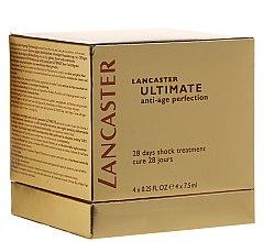 Kup PRZECENA! Kuracja odmładzająca - Lancaster Ultimate Anti Age Perfection (4 x treat 7,5 ml)*