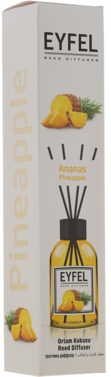 Dyfuzor zapachowy Ananas - Eyfel Perfume Reed Diffuser Ananas — фото N1