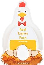 Kup Nawilżająca maska do twarzy na noc z ekstraktem z żółtka jaja - Dilly Delight Real Egging Pack