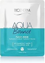 Kup Nawilżająca maska w płachcie - Biotherm Aqua Bounce Flash Mask