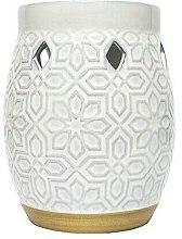 Kup Kominek do aromaterapii - Yankee Candle Wax Burner Addison Patterned Ceramic
