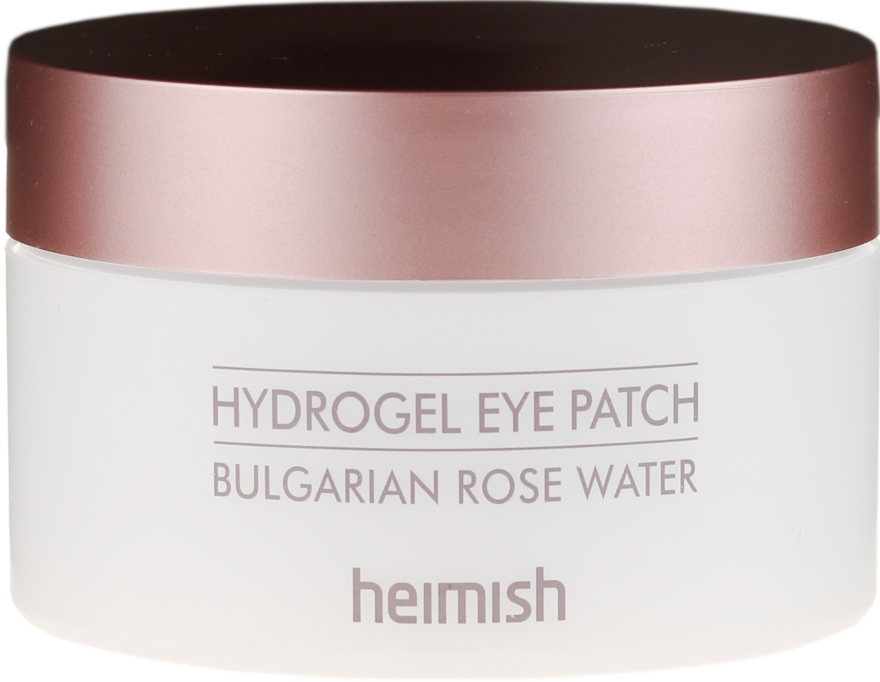 Hydrożelowe płatki pod ocz z wyciągiem z róży bułgarskiej - Heimish Bulgarian Rose Hydrogel Eye Patch
