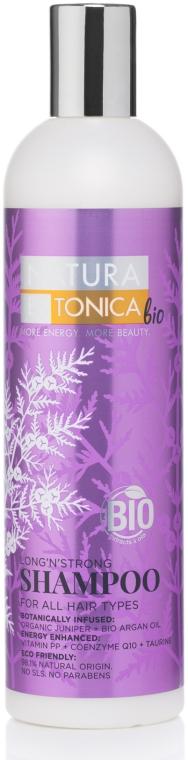 Wzmacniający szampon do włosów - Natura Estonica Bio Long'n'Strong Shampoo