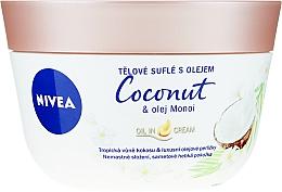 Kup Suflet do ciała z kokosem i olejem monoi - Nivea Body Souffle Coconut & Monoi Oil