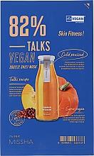 Kup Maska do twarzy w płachcie - Missha Talks Vegan Squeeze Sheet Mask Skin Fitness