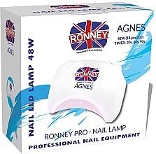 Kup Lampa LED do paznokci, biała - Ronney Professional Agnes Pro LED 48W (GY-LED-032)