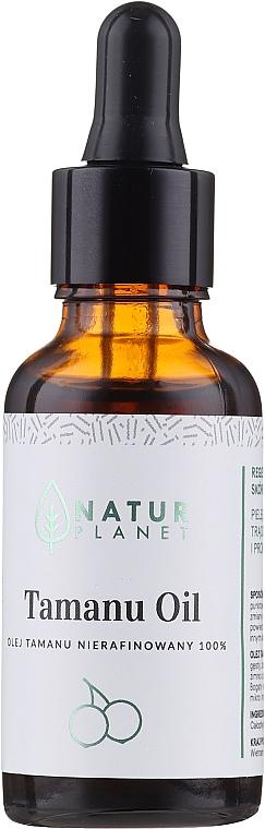 100% nierafinowany olej tamanu zielony - Natur Planet Tamanu Oil 100%