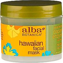 Maska do twarzy Papaja - Alba Botanica Natural Hawaiian Facial Scrub Pore Purifying Pineapple Enzyme — фото N2