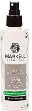 Kup Keratynowy spray do włosów do intensywnej regeneracji - Markell Cosmetics Keratin Program