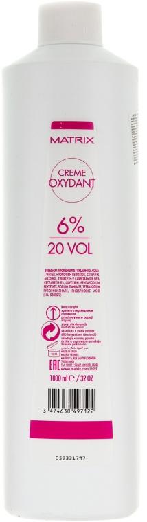 Oksydant w kremie - Matrix Cream Developer 20 Vol. 6 %