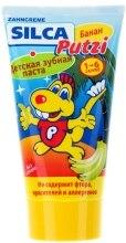 Kup Pasta do zębów o smaku banana, bez fluoru, dla dzieci - Silca Putzi