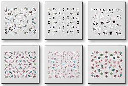 Kup Zestaw naklejek do paznokci 42959 - Top Choice Nail Decorations Stickers Set