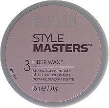 Kup Mocny wosk do stylizacji włosów - Revlon Professional Style Masters Fibre Wax 3 Strong Scultping Wax