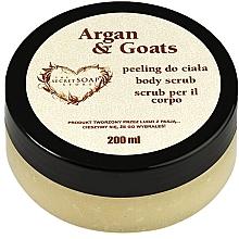Kup PRZECENA! Peeling do ciała, Mleczko arganowe i kozie - The Secret Soap Store Argan & Goats Body Scrub *