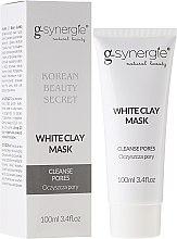 Kup Maska głęboko oczyszczająca pory - G-synergie White Clay Mask