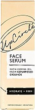 Organiczne serum do twarzy z olejem kawowym - UpCircle Organic Face Serum With Coffee Oil — фото N2