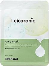 Kup Kojąca maseczka w płachcie do twarzy - SNP Prep Cicaronic Daily Mask