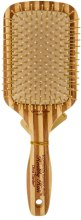 Kup Bambusowa szczotka do włosów - Olivia Garden Healthy Hair Rectangular Epoxy Eco-Friendly Bamboo Brush