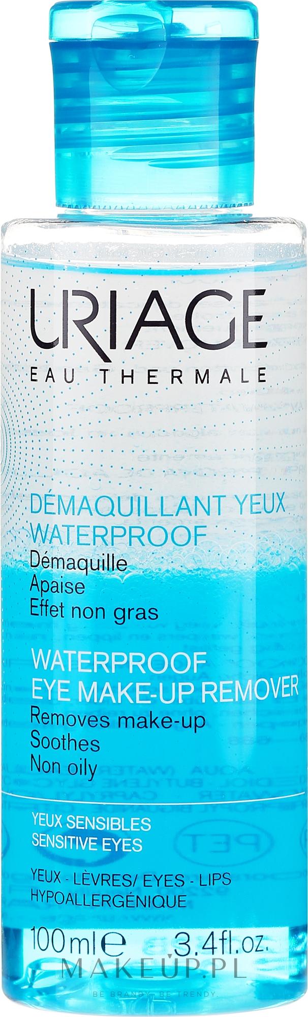 Płyn do zmywania wodoodpornego makijażu - Uriage Waterproof Eye Make-Up Remover — фото 100 ml