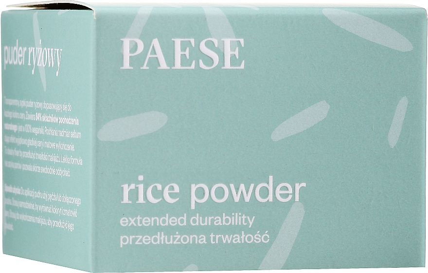 Ryżowy puder do twarzy - Paese Rice Powder — фото N3
