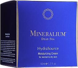 Kup PRZECENA! Nawilżający krem do cery normalnej i suchej - Mineralium Dead Sea HydraSource Moisturizing Cream For Normal To Dry Skin*