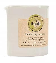 Kup Świeca do masażu Zielona regeneracja - Flagolie Green Regeneration Massage Candle