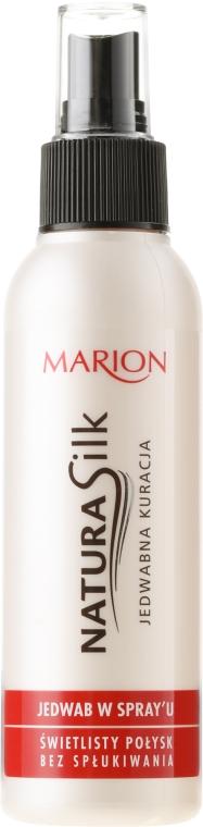 Jedwab w sprayu do włosów - Marion Natura Silk Jedwabna kuracja