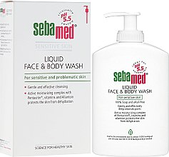 Kup Żel do twarzy i ciała z dozownikiem - Sebamed Liquid Face and Body Wash