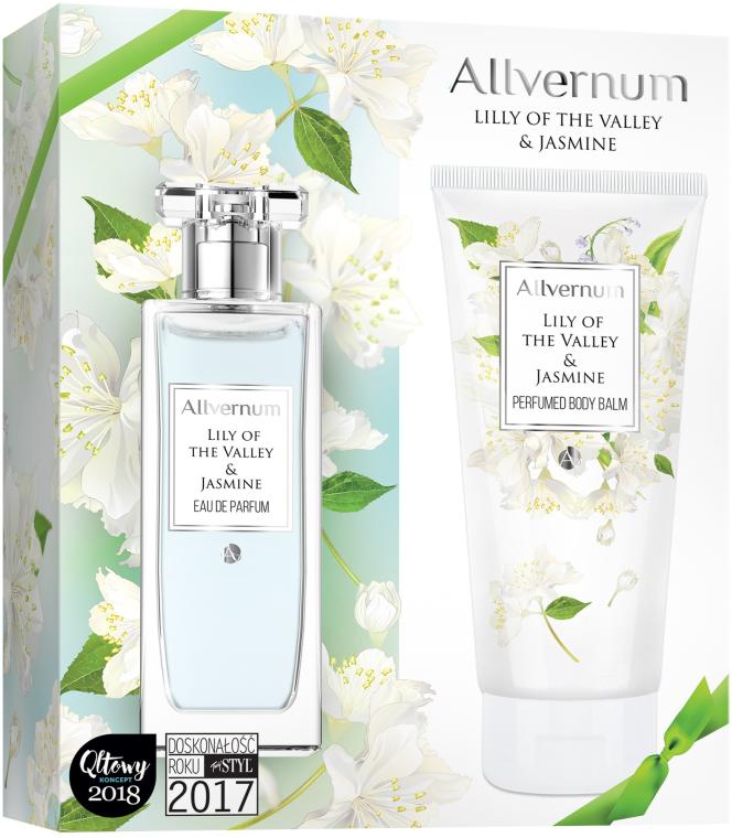 Allvernum Lily Of The Valley & Jasmine - Zestaw (edp 50 ml + b/lot 200 ml)