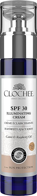 Rozświetlający krem do twarzy - Clochee Illuminating Cream SPF30 — фото N1